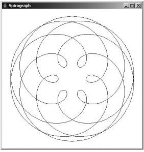 A spirograph plot using a parametric equation - computer graphic using 2D&3D - neezasty.wordpress.com